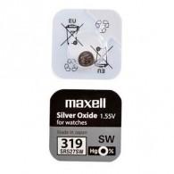 Батарейка Maxell SR 527 SW (319) BL 1/10