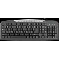 Клавиатура Defender HM-830 черная USB /20