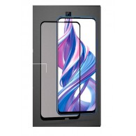 Защитное стекло 2,5D для Huawei Honor 9X чер (103315)