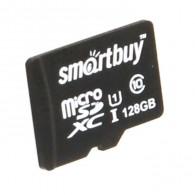 Карта памяти microSDHC SmartBuy128Gb Class 10 без адаптера (SDXC)