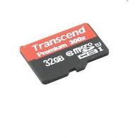 Карта памяти microSDHC Transcend 32GB Class 10 UHS-1 без адаптера