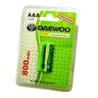 Аккумулятор Daewoo R03 800 Ni-Mh BL 2/20
