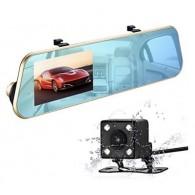 Видеорегистратор Mega L505C (зеркало,2 камеры,120\90°,microSD до 32Gb)