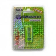 Аккумулятор Daewoo R03 600 Ni-Mh BL 2/20