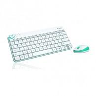Комплект Logitech MK240 (клавиатура+мышь) беспроводной белый