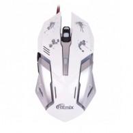 Мышь Ritmix ROM-360 USB игровая белая