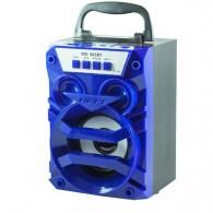 Колонка портативная MS-365BT (Bluetooth/USB /SD/FM) синяя