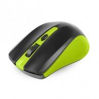Мышь SmartBuy SBM-352AG-GK беспровод.черно-зел (2*ААА, не в компл)