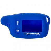 Чехол для сигнализации силиконовый Томагавк TW9010\9020\9030 синий