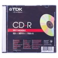 TDK CD-R 700 Mb 52x Slim