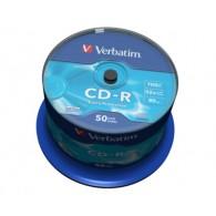Verbatim CD-R 700Mb 52x DL Cake box /50