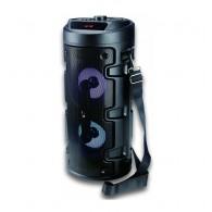 Колонка портативная ZQS-4210 (Bluetooth/USB /microSD/FM/дисплей/подсв черная