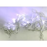 Эл. гирлянда 100 светод.белая белый шнур 8м