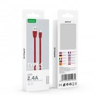 Кабель USB- Type-C APPACS U181 (5v, 2.4A) 1м