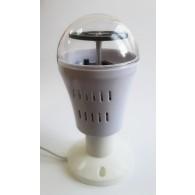 Диско-лампочка с новогодним рисунком на подставке