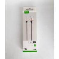 Кабель USB- Type-C APPACS U16 (5v, 2.4A) 1м