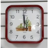"Часы настенные B2-806 (1АА) рисунок ""Кактус"""