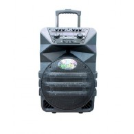 "Колонка портативная 12"" К5-12 (Bluetooth/USB /microSD/FM) черная"