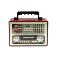 Радиоприемник БЗРП РП-312 (УКВ,СВ,КВ, USB,SD,microSD, 220v)