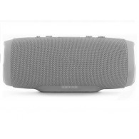 Мини-колонка CH3 (Bluetooth\MicroSD\Power Bank) серебро