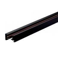 Шинопровод для трековых прожекторов Jazzway PTR 2M-BL черный 2м