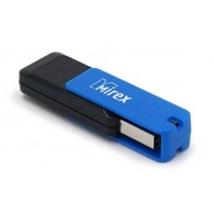 Флэш-диск Mirex 16Gb USB 2.0 CITY синий