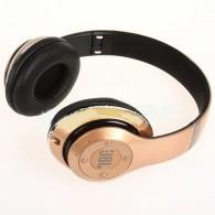 Наушники-плеер S680 золото (Fm, microSD,Bluetooth)