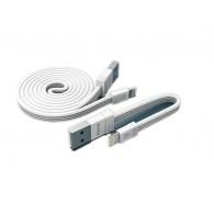 Кабель USB- iPhone5 Remax Tengy 1м +16см (2 в 1) (RC-062i)