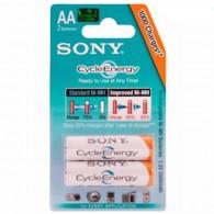 Аккумулятор Sony R6 2000 Ni-Mh BL 2/20 предзаряженные