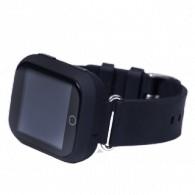 Smart-часы Q90 с GPS и Wi-Fi черные