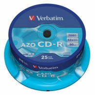 Verbatim CD-R 700Mb 52x DL+ Cristal Cake box /25