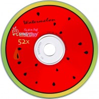 SmartBuy CD-R 700Mb 52x фрукты bulk /100