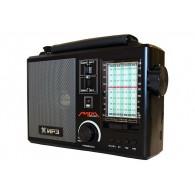 Радиоприемник Лира РП-262 (УКВ,СВ,USB,SD,220v/встр.аккумулятор)