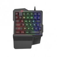 Клавиатура Ritmix RKB-209 игровая с подсв. (только игров.клавиши)
