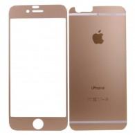 Защитное стекло Activ для iPhone 6 золото комплект