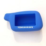 Чехол для сигнализации силиконовый Томагавк X5 синий