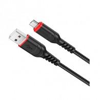 Кабель USB- Type-C Hoco X59 1м (3А) нейлон