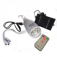 Солн.минисистема GD-5023 (солн.панель+светильник (АКБ 1200mAh, до 6ч)
