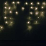 "Эл. гирлянда уличная 80 светод. белый ""Сосульки"", прозр.шнур (OIC80LSE-W-T-14)"