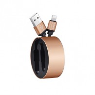 Кабель USB- lightning Hoco U23 0,9м (2А)