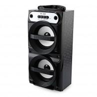 Колонка портативная MS-159BT (Bluetooth/USB /SD/FM/дисплей) черная