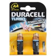 Батарейка Duracell LR6 TURBO BL 2/40