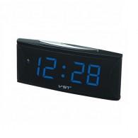 Часы электронные 719-5 (220V+2*ААА, син.цифры)