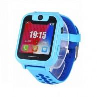 Смарт-часы детские с GPS трекером S6 (синие)