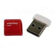 Флэш-диск SmartBuy 16GB USB 2.0 Lara красный