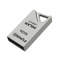 Флэш-диск Fumiko 16GB USB 2.0 Milan серебро