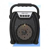 Колонка портативная ZQS-1411 (Bluetooth/USB /microSD) черная