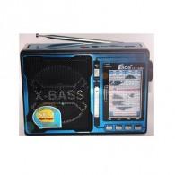 Радиоприемник EPE FP-1338U (USB /microSD/FM) син