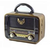 Радиоприемник MD-1905BT (Bluetooth/USB /SD/microSD/FM/акб/4*R20) чер Kemai