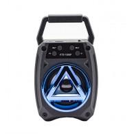 Колонка портативная KTS-1055F (USB\microSD\Bluetooth) синяя